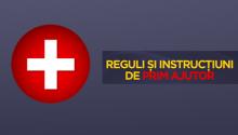 Infografic: Reguli şi instrucţiuni de prim ajutor
