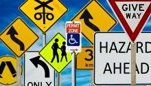 Instrucțiuni de securitate privind traseul de deplasare la locul de muncă