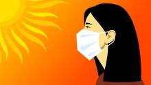Excepții de la purtarea măștii de protecție în perioada de caniculă