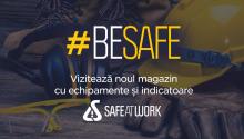 Am lansat Safe At Work – un magazin complet cu echipamente şi indicatoare SSM